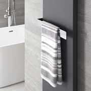 Verchroomd Staal Handdoekrek - 6 x 42 x 12,5 cm