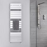 Lustro Verchroomd Handdoekradiator Staal Chroom 151,2cm x 45cm x 4,5cm 535 Watt