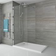 Pearlstone Douchebak Acryl Rechthoek Wit 120cm x 70cm x 4cm