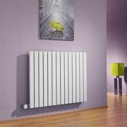 Sloane Designradiator Elektrisch Horizontaal Wit 63,5cm x 83,4cm x 5,4cm