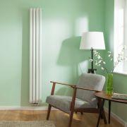 Revive Caldae Designradiator Verticaal Middenaansluiting Wit 178cm x 23,6cm x 7,8cm 934 Watt