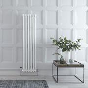 Windsor Designradiator Verticaal Klassiek Wit 150cm x 38,3cm x 6,2cm 1096 Watt