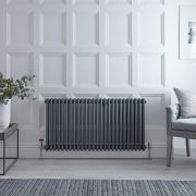 Windsor 3 - Kolomradiator Horizontaal Anthraciet 60 x 119,3 cm 1900Watt