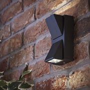 Architect Wandlamp Buiten Zwart Op & Neerwaarts 6W Smd Led IP54