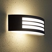 Architect Zwart RVS Buitenlamp