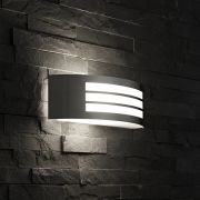 Biard Orleans RVS Buitenlamp (horizontale uitvoering)