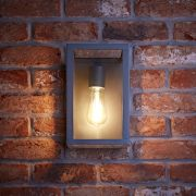 Biard Bonn IP54 Wandlamp - Antraciet