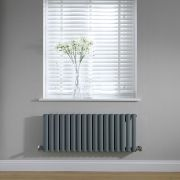 Revive Design Radiator Horizontaal Antraciet 40cm x 100cm x 5,6cm 691Watt
