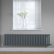 Revive Design Radiator Horizontaal Antraciet 40cm x 164,7cm x 5,6cm 1138Watt