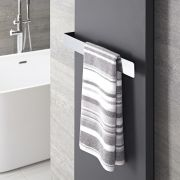 Verchroomd Staal Handdoekrek - 6 x 52 x 12,5 cm