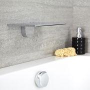 Moderne Verchroomd RVS Watervaldouchekop