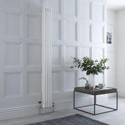 Designradiator Verticaal Klassiek Wit 150cm x 20cm x 6,8cm 548 Watt - Windsor