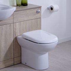 BASIC Toiletmeubel 50cm x 30cm x 76,5cm met Dual Flush spoeling