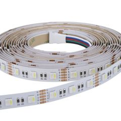 1 x IP20 - Extra fel RGBW - LED 5050 strip verlichting - 5 meter