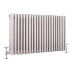 Windsor Designradiator Horizontaal Klassiek Wit 60cm x 99cm x 13,3cm 2088 Watt