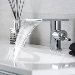 Blade Wastafelmengkraan met Watervaluitloop