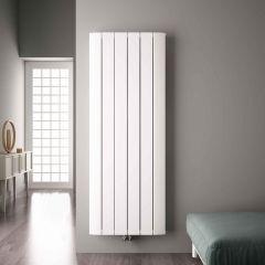 Aurora Designradiator Verticaal Middenaansluiting Aluminium Wit 180cm x 56,5cm x 4,5cm 2303 Watt