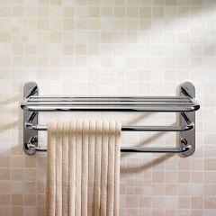 Modern Handdoekrek Verchroomd Messing