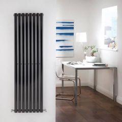 Revive Designradiator Verticaal Zwart 160cm x 113,5cm x 5,6cm 1122 Watt