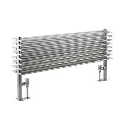 Parallel Designradiator Horizontaal Chroom 50,4cm x 100cm x 14,6cm 1016 Watt