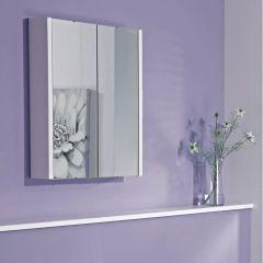 Spiegelkast - Wit Hoogglans - 65 x 60 x 10cm