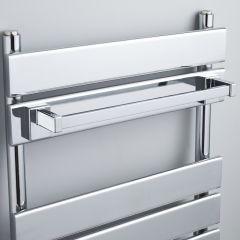 Magnetisch handdoekenrek alleen geschikt voor de vlakke designer radiatoren