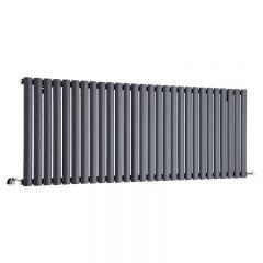 Revive Designradiator Horizontaal Antraciet 63,5cm x 164,7cm x 5,6cm 1671 Watt