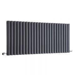 Revive Designradiator Horizontaal Antraciet 63,5cm x 141,1cm x 7,8cm 2236 Watt
