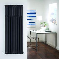 Revive Designradiator Verticaal Zwart 160cm x 59cm x 7,8cm 2047 Watt