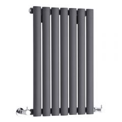 Revive Designradiator Horizontaal Antraciet 63,5cm x 41,5cm x 5,5cm 418 Watt