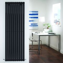 Revive Designradiator Verticaal Zwart 178cm x 160cm x 5,5cm 1487 Watt