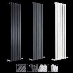 Helius Verticale Designer Radiatoren - Verkrijgbaar in verschillende kleuren, wattage en afmetingen