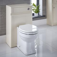Charlton Toiletkast MDF Ivoor 50cm x 81,5cm