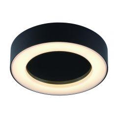 Biard Ambiente Badkamer Plafondlamp Rond Zwart 13W SMD LED IP54