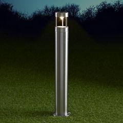 Biard Niort Dimbare Sokkellamp 60cm Hoog RVS-GU10 IP44