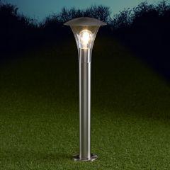 Biard Cholet Dimbare Sokkellamp RVS 60cm E27 IP44