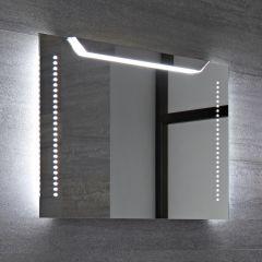 Lomond 13W IP44 LED Badkamerspiegel Geborsteld Aluminium Anti-mist 70 x 50 x 40cm