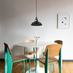 Biard Brera Hanglamp Zwart E27 (keus uit 5 fitting kleuren)