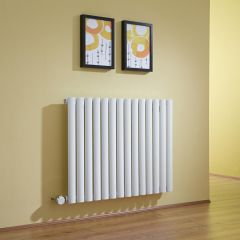 Revive Designradiator Elektrisch Horizontaal Wit 63,5cm x 83,4cm x 5,6cm
