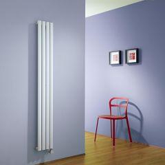 Revive Designradiator Elektrisch Verticaal Wit 160cm x 23,6cm x 5,6cm