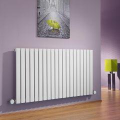 Sloane Designradiator Elektrisch Horizontaal Wit 63,5cm x 118cm x 5,4cm