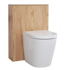 Newington Toilet Ombouw Goud Eiken 60cm