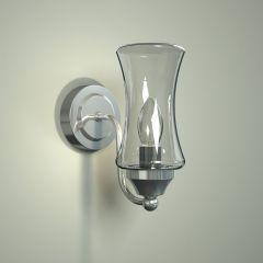 Fischa IP44 E14 Badkamerlamp-  Wandlamp
