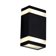 Biard Architect IP65 LED Up/Down Outdoor Wall Light - Black
