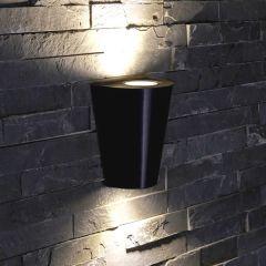 Biard Op- en Neerwaartse Buitenlamp - Zwart - Rond