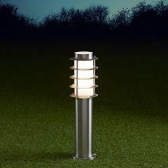 Biard Belfort Dimbare Sokkellamp RVS 45cm Hoog IP44 E27