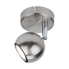 Biard Plafond Spotlight GU10 - Satijn nikkel