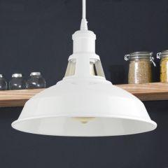 Biard Brera Hanglamp Wit E27 (keus uit 5 fitting kleuren)
