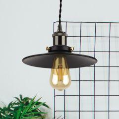 Biard Noord Hanglamp E27 Zwart - ( keus uit 5 fitting kleuren)