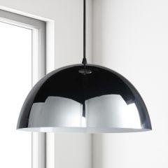 Gracia Hanglamp E27 Chroom/Wit
